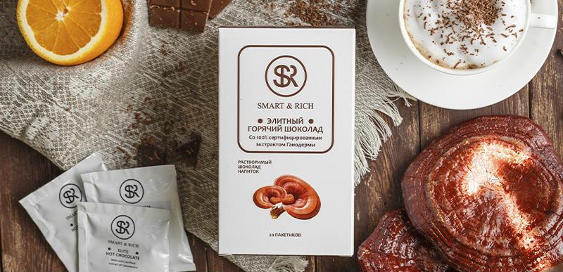 Шоколад с Ганодермой